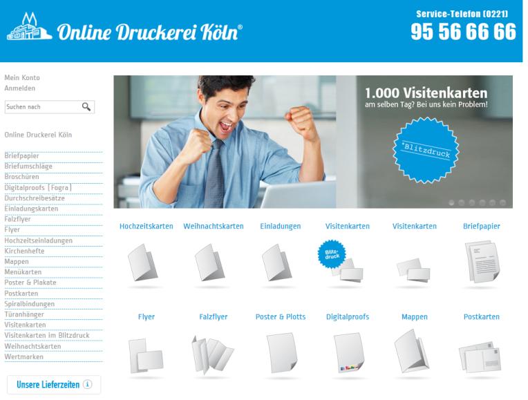 Online Druckerei Koeln