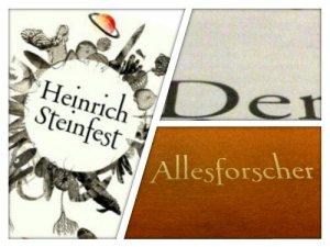 Heinrich Steinfest - Der Allesforscher