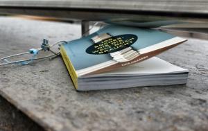 Achtung freilaufendes Buch