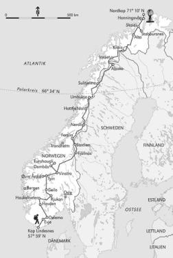 Norge pa langs